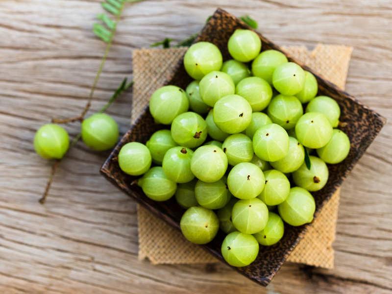 Antioxidants in Indian gooseberry help maintain cardiovascular health and boost immunity