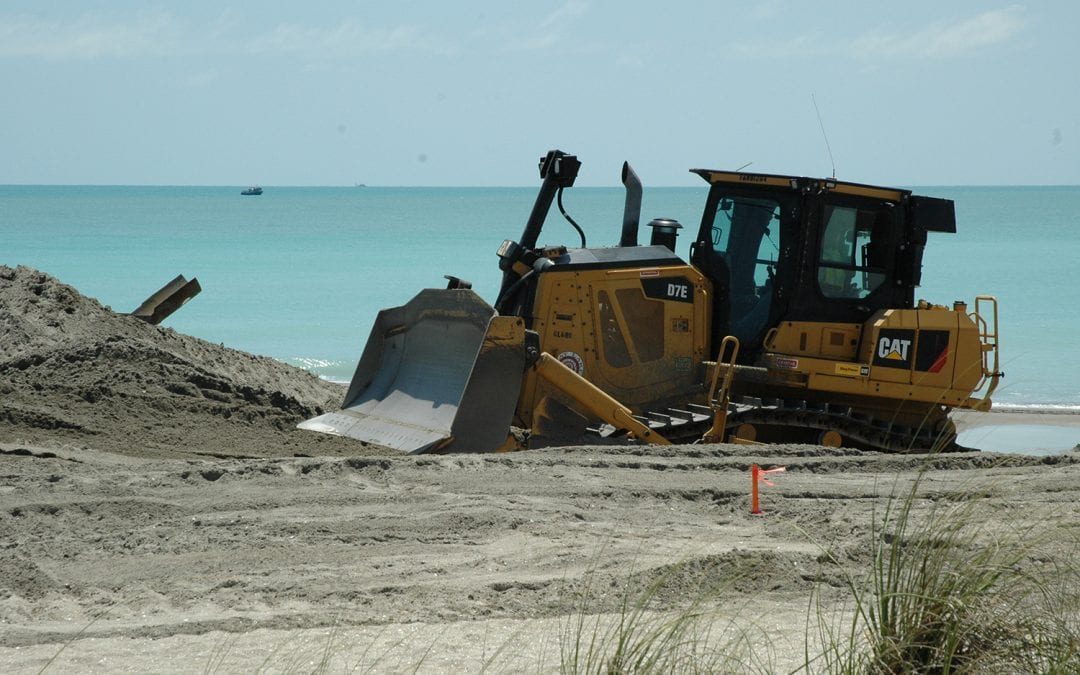 St. Lucie County to Begin Sand Renourishment Project at Fort Pierce Beach