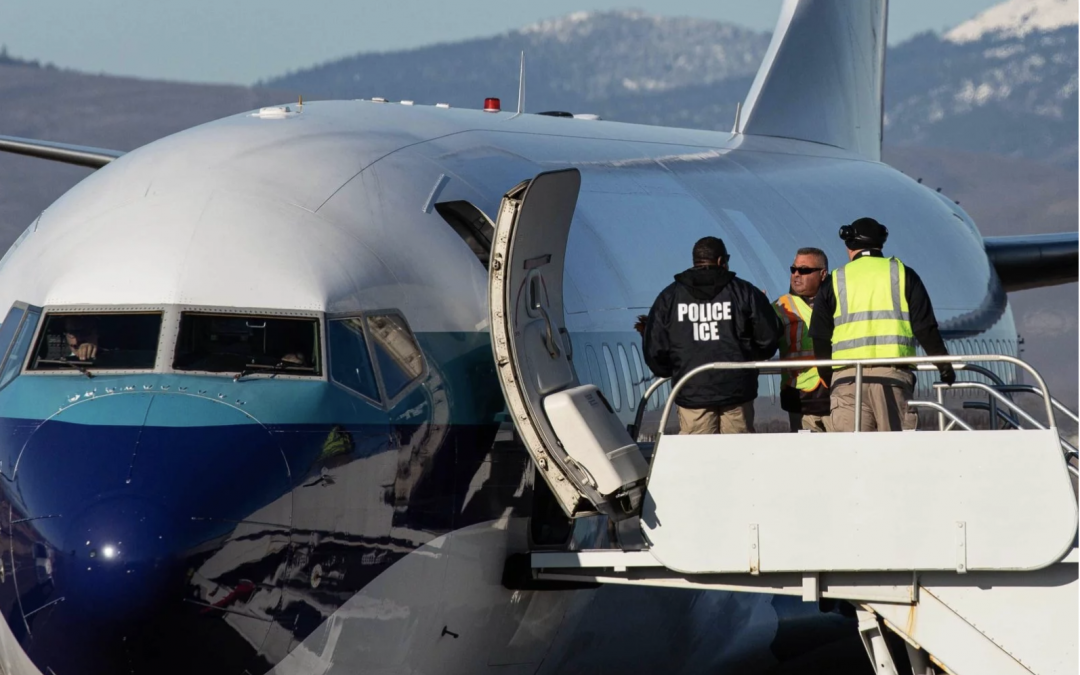 In a 10-Day Span, ICE Flew This Detainee Across the Country — Nine Times