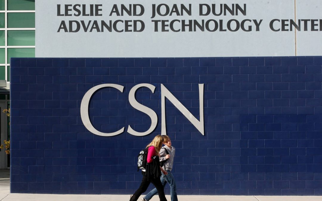 Student at CSN's Henderson campus tests positive for COVID-19