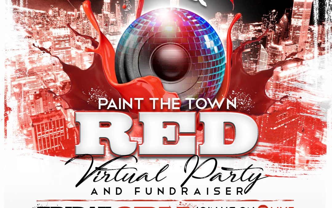 Paint the Town Red Fundraiser Party Online