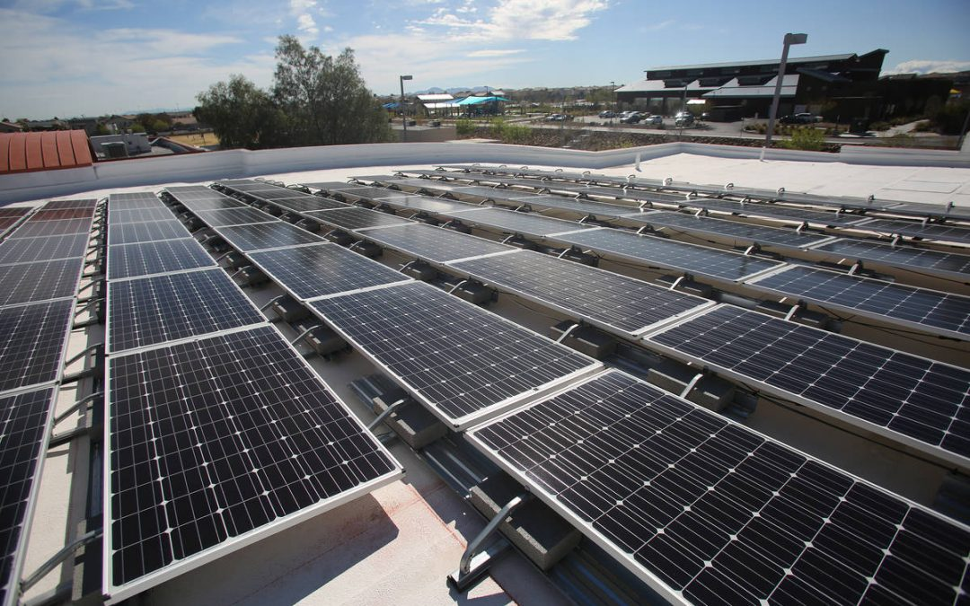 Las Vegas ranks in top 10 for solar energy, according to report