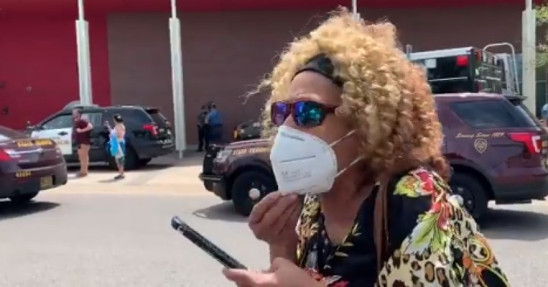 """VIDEO: BLACK WOMAN COMPLAINS ABOUT RIOTERS: """"THEY MOTHERF**KERS NEED TO GO HOME!"""""""