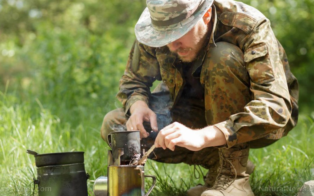 Cook your food while on the move with this DIY portable can stove