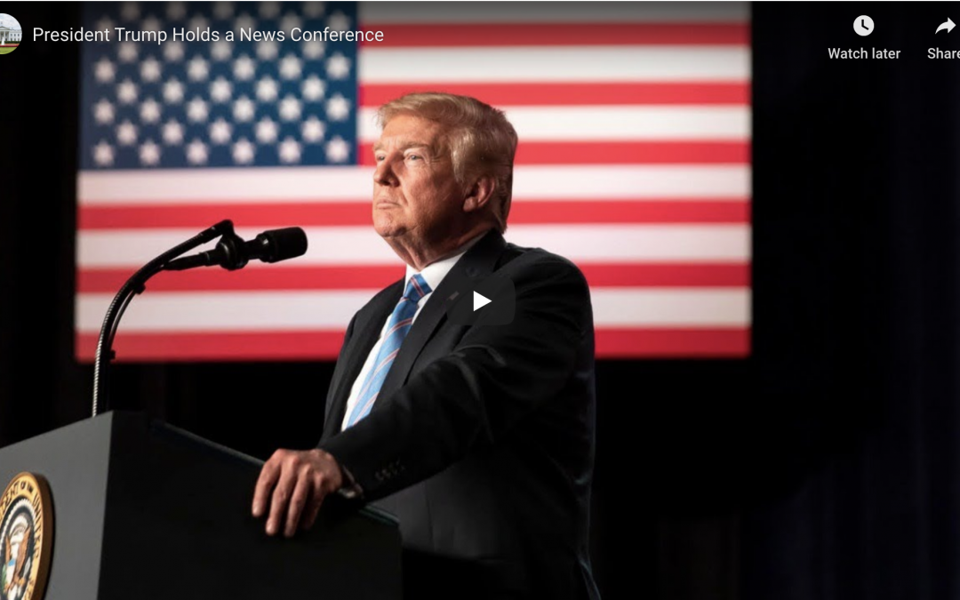 President Trump Holds a News Conference May 29, 2020