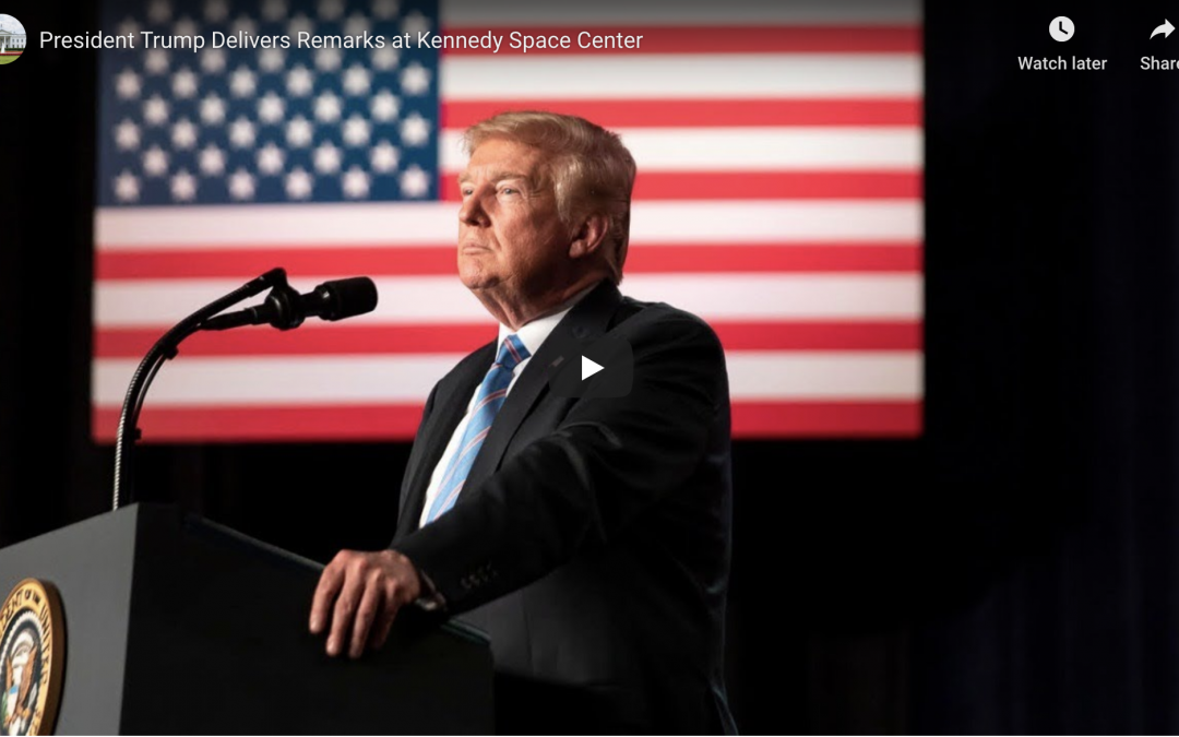 President Trump Delivers Remarks at Kennedy Space Center May 30, 2020