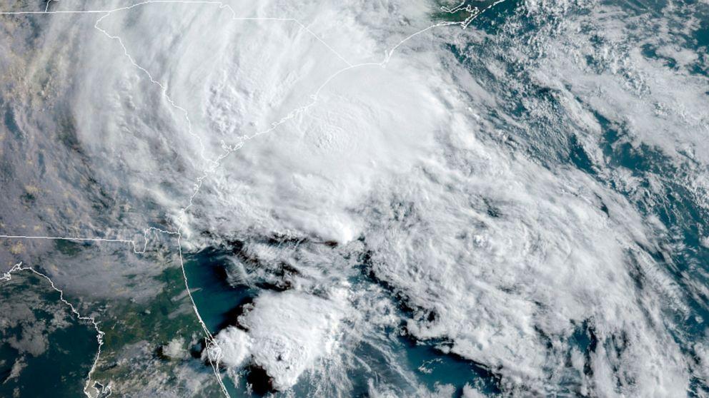 Bertha weakens to tropical depression after making landfall in South Carolina