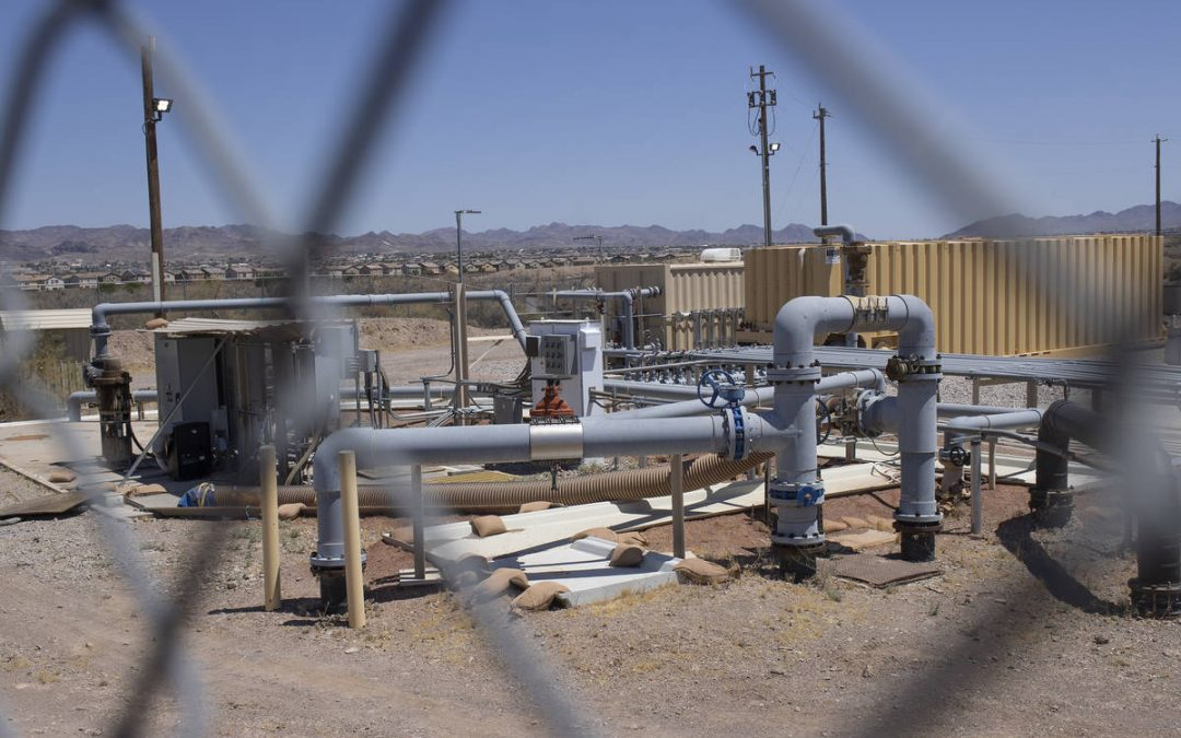 Chemical in Nevada drinking water won't be regulated despite dark past