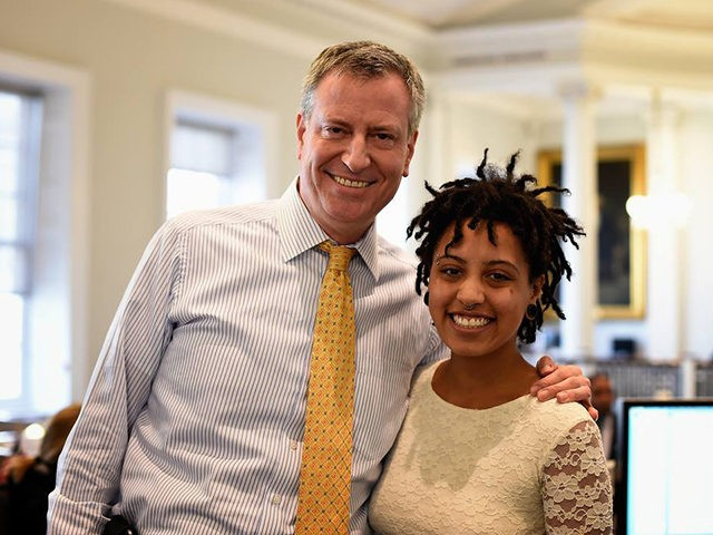 Bill de Blasio on Daughter's Arrest: 'I'm Proud of Her That She Cares so Much'