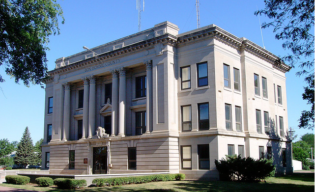 Bon Homme County Courthouse Now Open