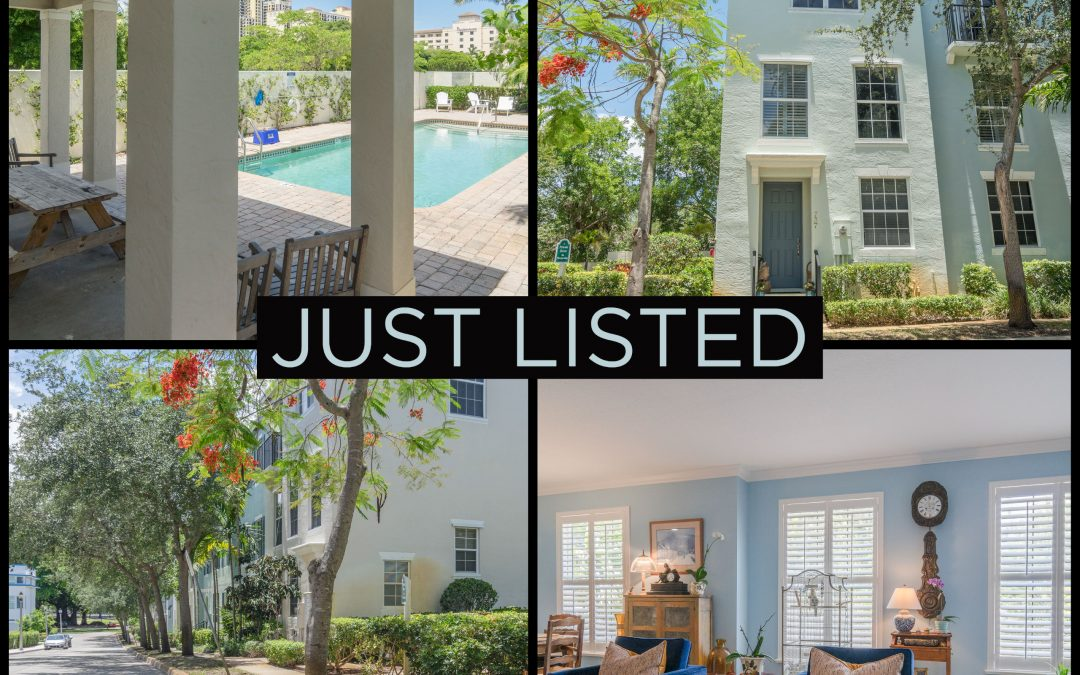 Just Listed | Wonderful in West Palm Beach | 737 N Street