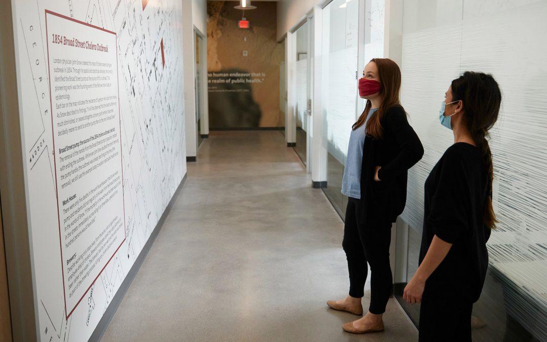 How UNLV's School of Public Health took center stage in the coronavirus crisis.
