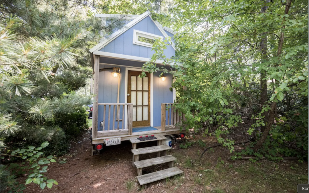 Top 10 most popular US states for living in a tiny home