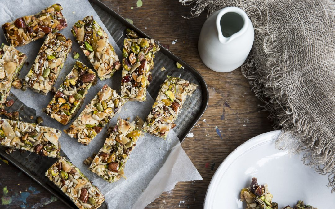 How to make homemade nutrition bars