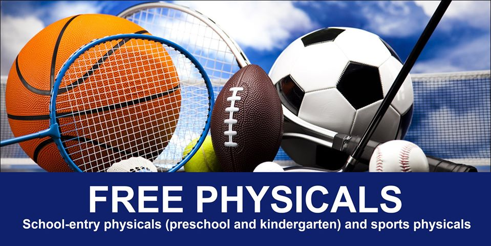 Free School and Sport Physical At Clay County Medical Center