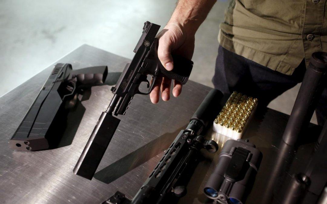 U.S. loosens export curbs on gun silencers