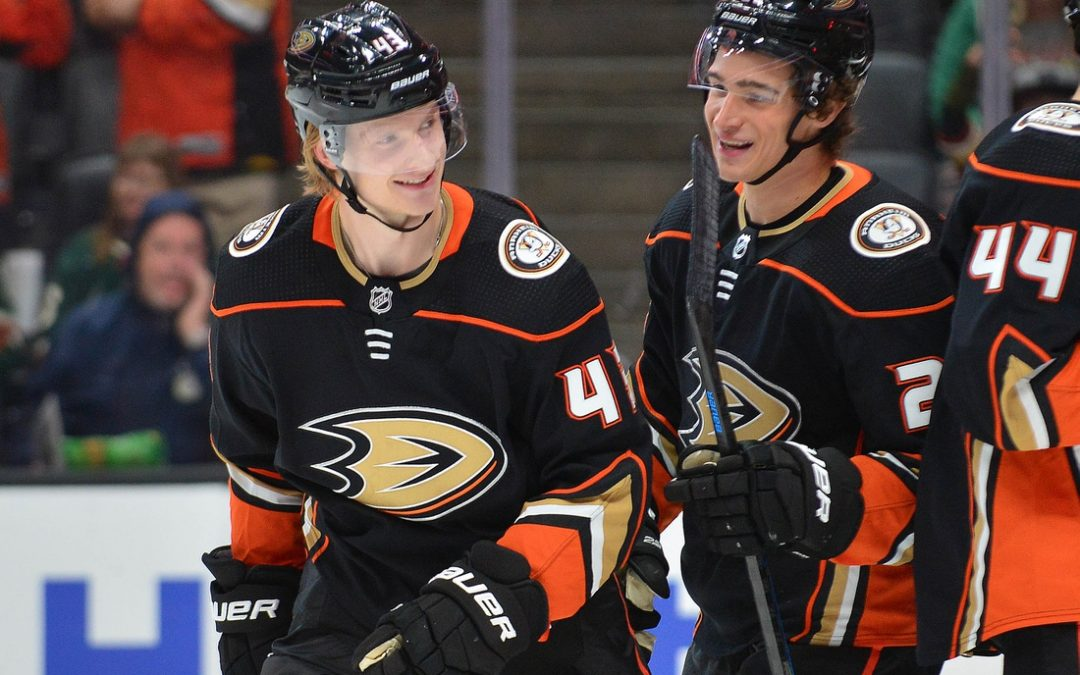 Ducks sign F Milano to two-year extension
