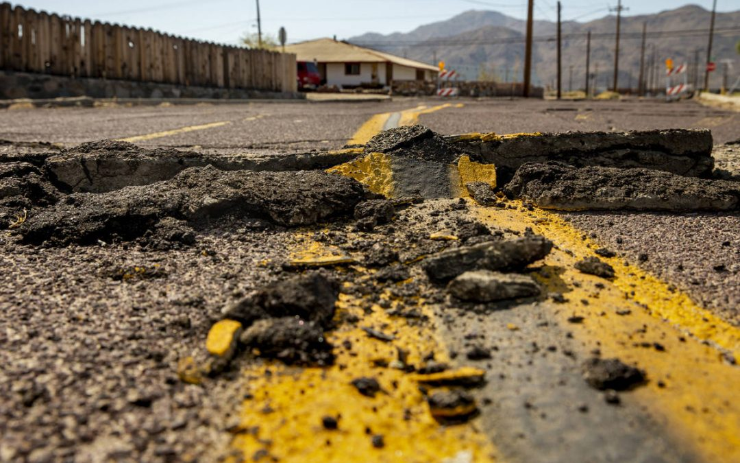 Earthquakes in Las Vegas? The answer lies in Walker Lane