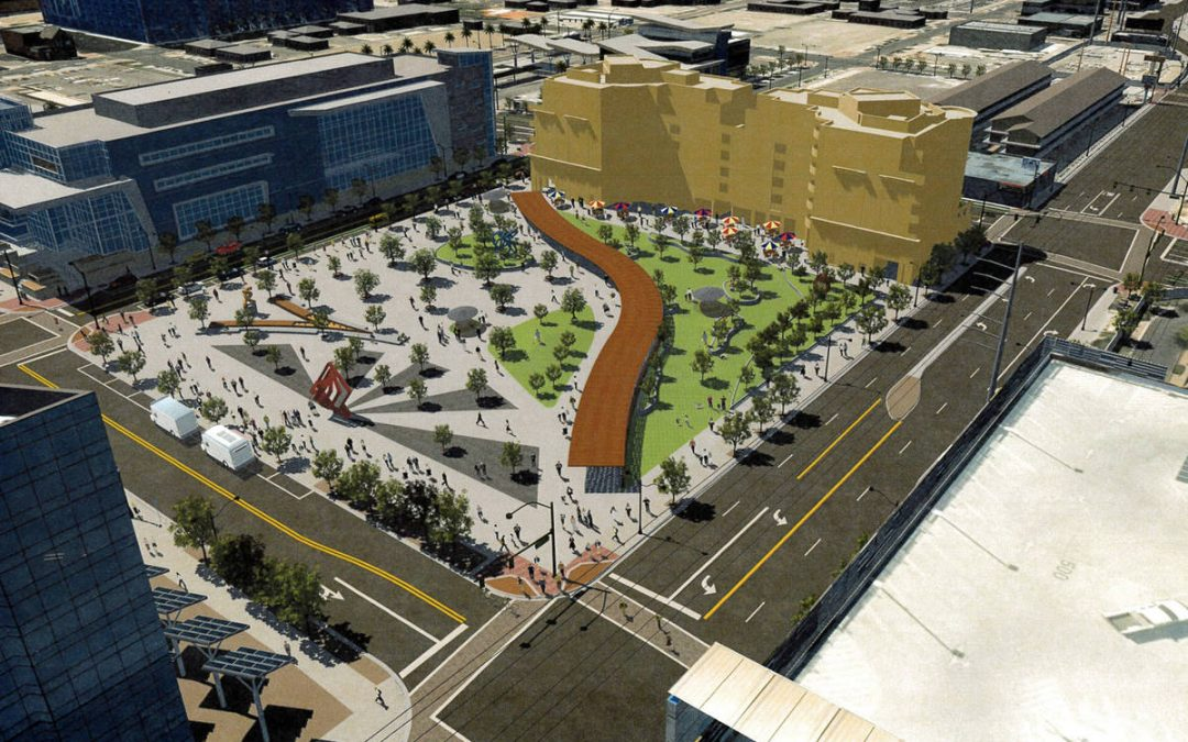 Las Vegas' first urban central park coming soon to downtown