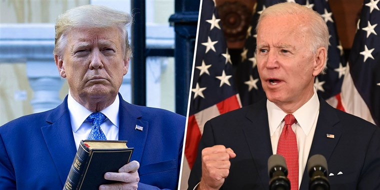 More Voters Rule Out Trump Than Biden