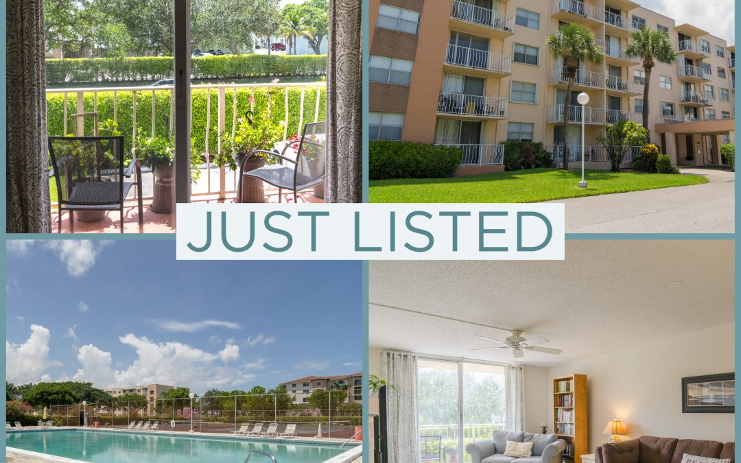 Just Listed | Wonderful in West Palm Beach | 500 Executive Center Drive #2a