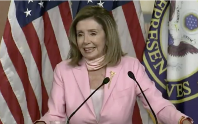 """PELOSI ON LEFTIST MOB TEARING DOWN COLUMBUS STATUE: """"PEOPLE WILL DO WHAT THEY DO"""""""