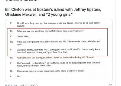 Screen-Shot-2020-07-31-at-4.19.09-AM-400x284 Court Unseals Documents: Bill Clinton Alleged to Have Appeared on Epstein's Island Top Stories U.S. [your]NEWS