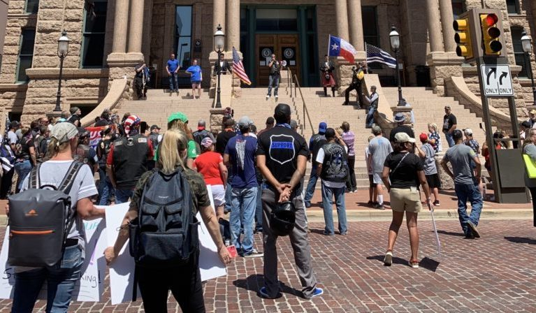 Bikers Gather for 'Bikers Backing Blue' Rally in Fort Worth