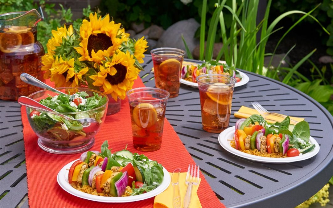 Tips for easy backyard barbecues