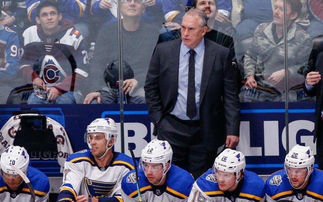 Blues bid to regain form vs. Avalanche