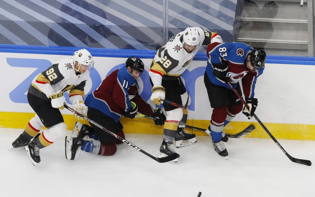 Golden Knights use overtime winner to snare No. 1 seed