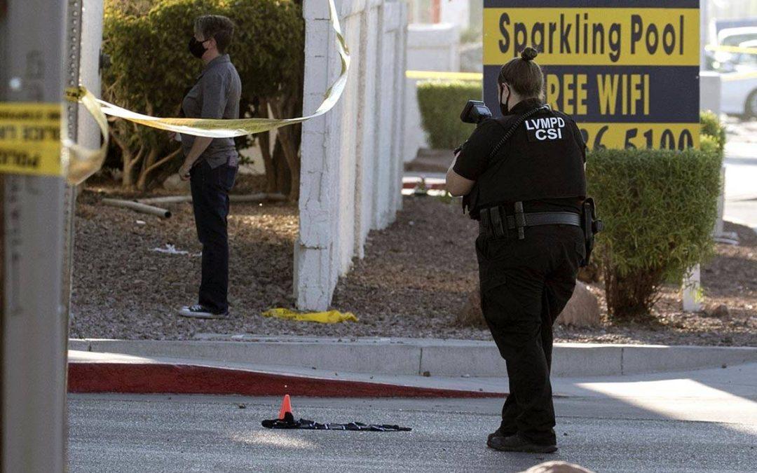 1 dead, 2 injured in gun battle west of downtown