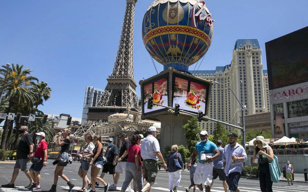 New data shows jump in COVID cases for visitors to Nevada