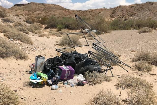 Trash problem growing at Lake Mead
