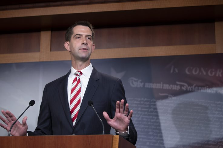 Cotton, McConnell introduce college campus Free Speech Act