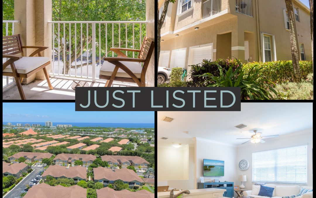 Just Listed | A Treat in Tequesta Trace | 116 Lighthouse Circle #J