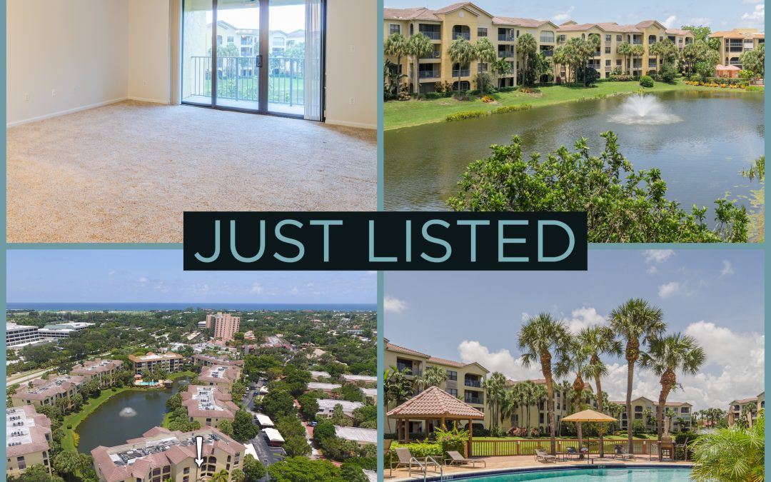 Just Listed | A Jewel in Juno Beach | 300 Uno Lago Drive #304