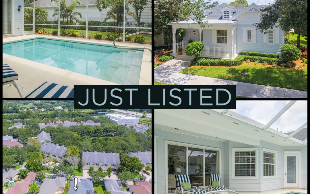 Just Listed | Adorable in Abacoa | 321 Sweet Bay Circle
