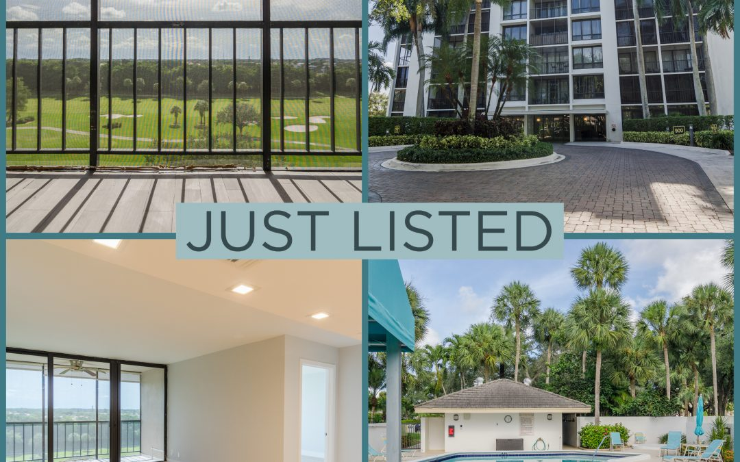 Just Listed | Lovely in Lakewood | 7835 Lakeside Boulevard #986