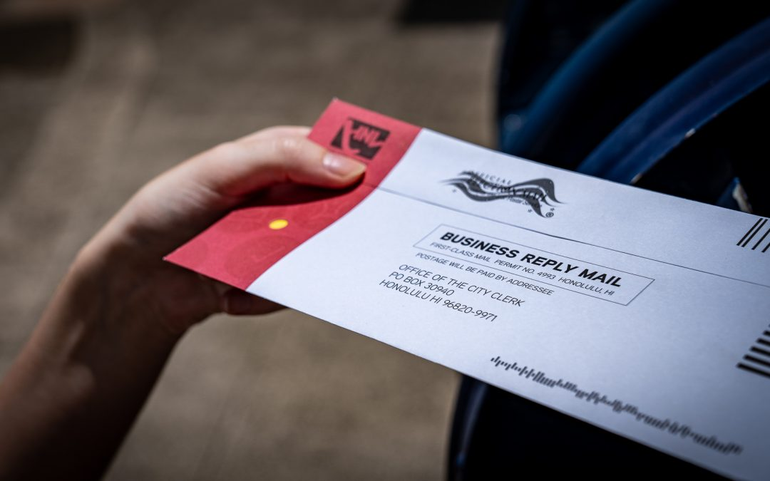 In first all-mail vote, Hawaii secures a record for number of ballots cast