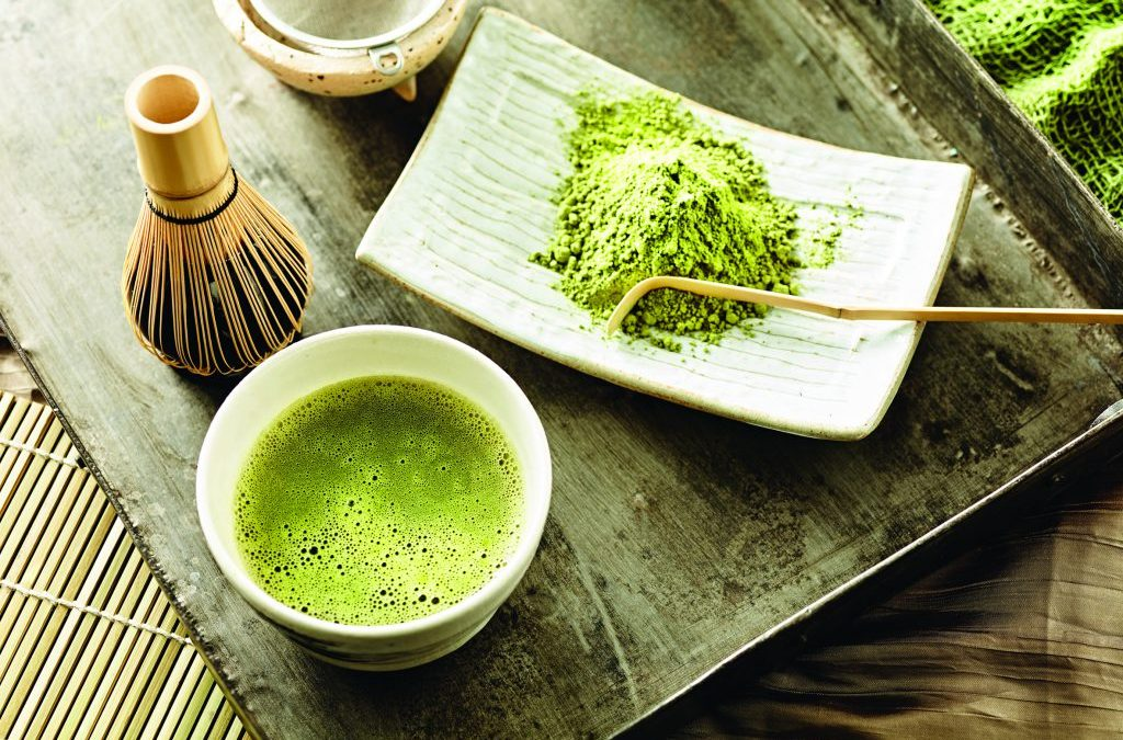 Curb your anxiety by drinking a cup of matcha green tea