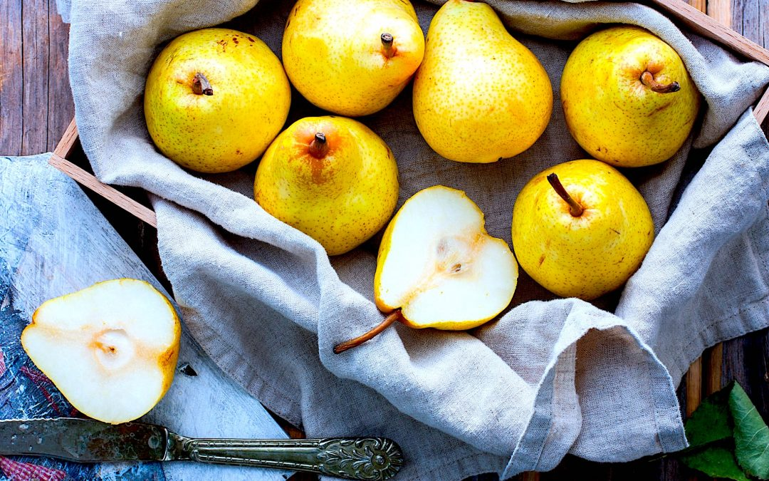 Pear necessities: 8 Health benefits of eating pears