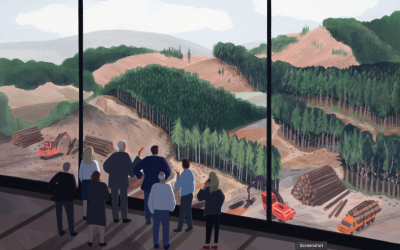 THE CUTTING: What Happened When a Public Institute Became a De Facto Lobbying Arm of the Timber Industry