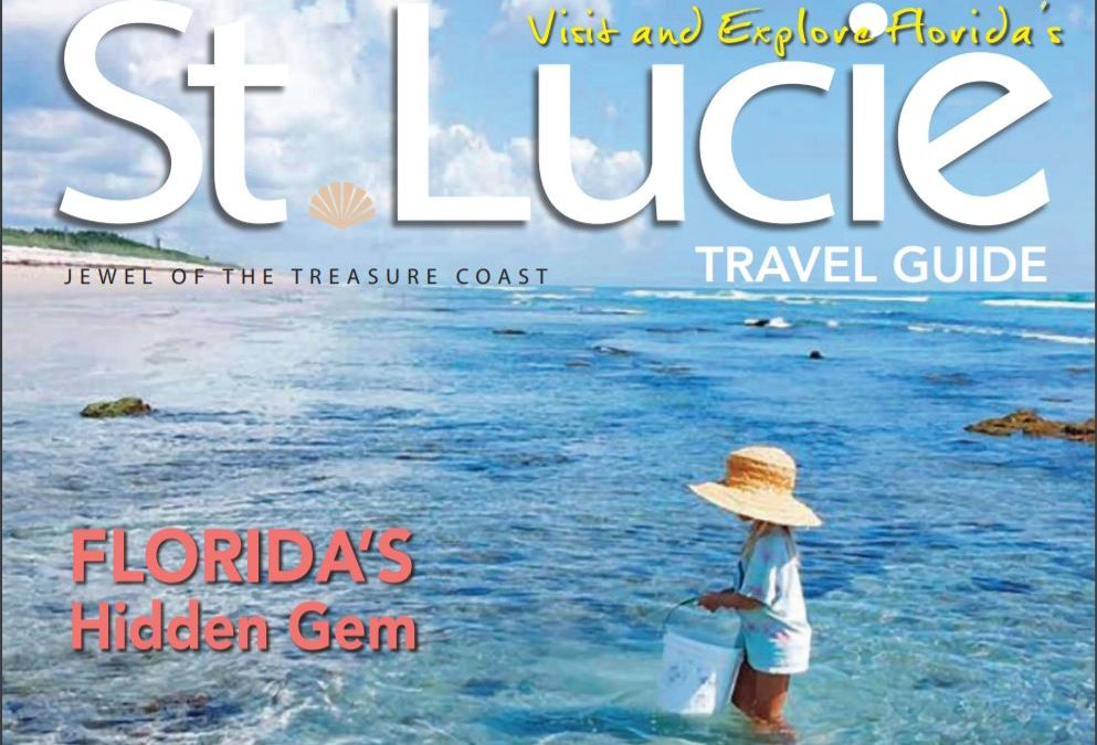 """St. Lucie County Tourism Office Receives """"General Excellence"""" Award for Best Visitor Publication"""