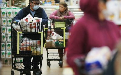 Food Stamp Usage Climbs by 5.9 Million Since Coronavirus Pandemic Began