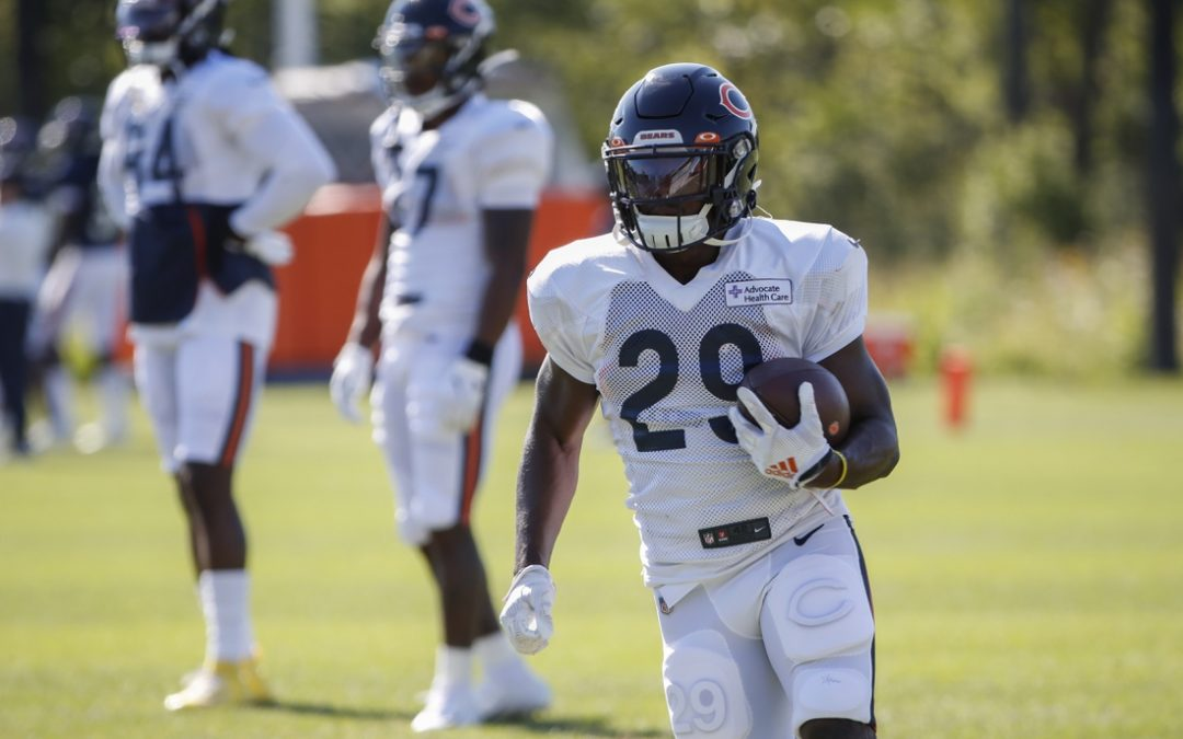 Bears, RB Cohen agree to three-year extension