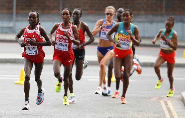 Jepchirchir runs fastest-ever half marathon in women-only race