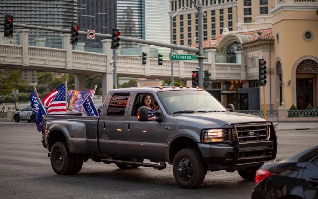 Parade on Strip to support police, Trump set for Wednesday