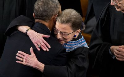 Ginsburg, Obama and the Lunch That Could Have Altered Supreme Court History