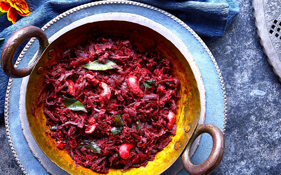 Spice up your dinner routine with this Vegan Beetroot Curry